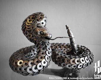 Metal Rattlesnake (Medium item)