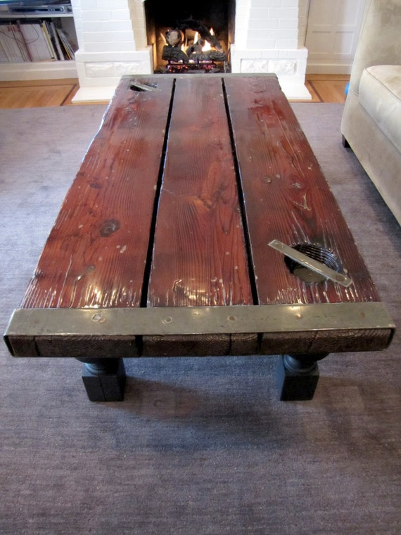 Ship hatch door table world war liberty by