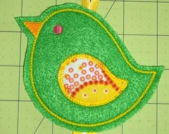 Handmade Birdie Hair Bow/Clip  holder Keeper - Free Shipping
