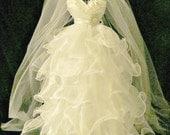 Bridal  shower centerpiece decration weddng reception decoration  centerpiece wedding dress  reception cent  bridal bouquetsl, rhinestones