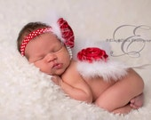 Newborn Butterfly WINGS  Newborn Butterfly Wing Set Feather Wings, Pink, red, Lave Newborn wing set