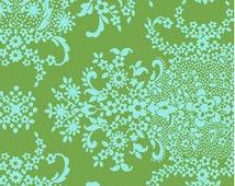 Crib Sheet SALE - Organic Girls Fitted Crib Sheet / Green Aqua Nursery / Green Mint Baby Bedding / Organic Cloud9