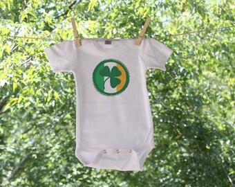 Irish Clover Infant Bodysuit - St. Patrick's Day