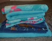 Soft fleece fabric destash.