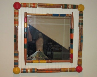 Vintage Croquet  Large Wall Mirror