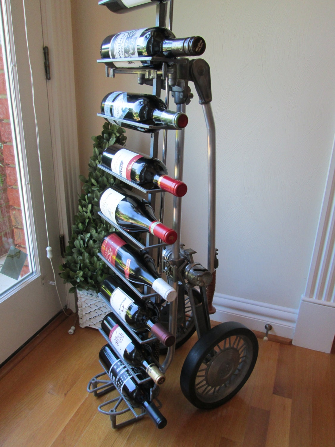 Reserved For Spanish Oaks 1950 S Golf Caddy Wine Rack