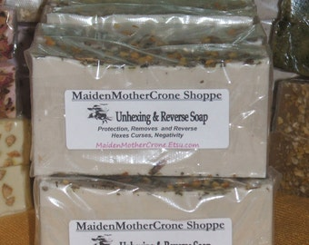 Cross Cleaning Soap Jabon Wicca Pagan Spirituality Religion Ceremonies Hoodoo Metaphysical MaidenMotherCrone