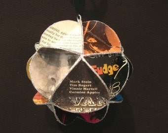 Vanilla Fudge Album Cover Ornament Made From Record Jackets