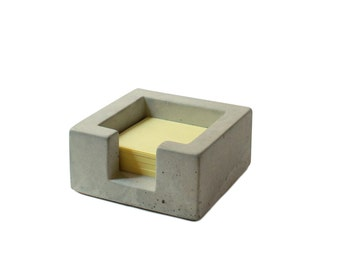Concrete Post-It Note Holder