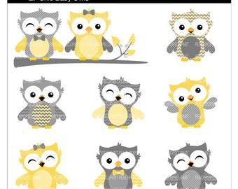 cute owl clip art digital clipart - Lil Chic Baby Owls ...