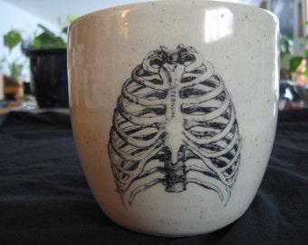 Skeletal Ribs Mug
