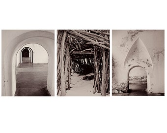 Black & White Photography Collection - Arches Collection - architecture photography, monochromatic, minimal, travel print collection