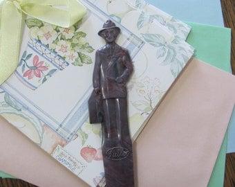 Vintage Fuller Brush Salesman Plastic Letter Opener Premium Gift