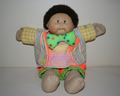 1985 Cabbage Patch Kid Doll in Clown Costume