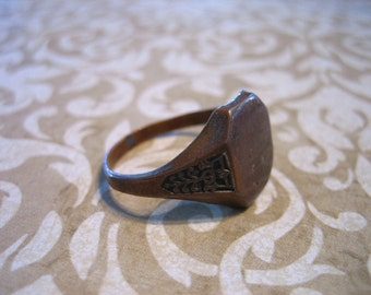 Victorian SIGNET Ring