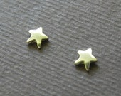 Really Tiny star studs in 14 K gold - Halloween studs - gift for girl for her for kids Valentine gift