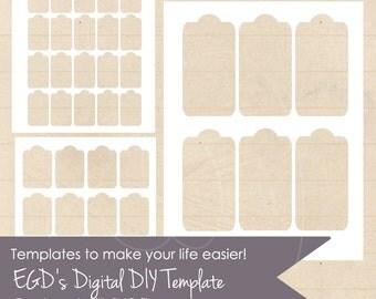 Hang tag templates | Etsy