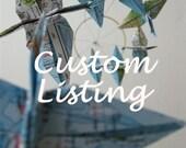 RESERVED for Stacy Kest - Custom Listing