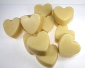 Heart Solid Lotion Favor Packs - Wedding, Valentines Day, party favor, wedding favor, bridesmaids, two hearts, winter wedding