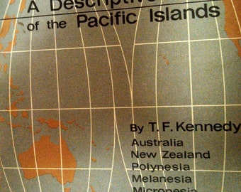 PACIFIC ISLAND maps ATLAS - Australia - New Zealand - Polynesia - Melansia - Micronesia - Philippines maps history - geography - 1968 book