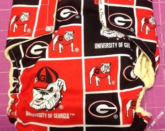 UGA Inspired Cloth Diapers/Diaper Cover