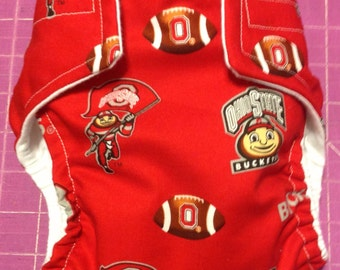 Ohio State Inspired Cloth Diapers/Diaper Cover
