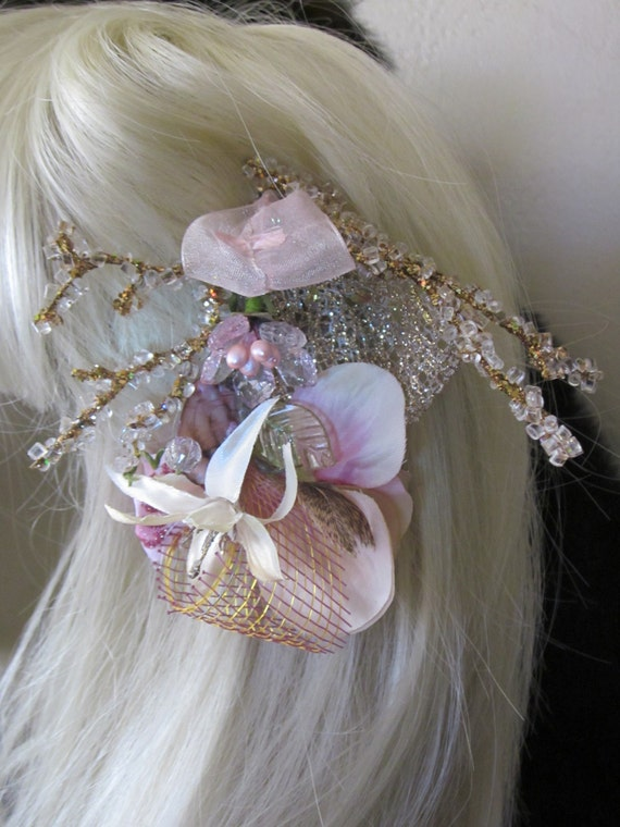 WooDLanD Faery PRinCeSS Boho Shabby Chic Hair Clip