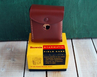 Brownie Starmatic Field Case No. 46FC, Unused Camera Case in Original Box.