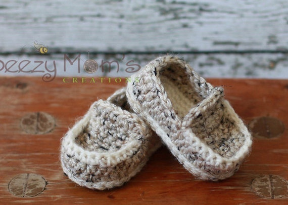 Crochet Pattern For Baby Lovey : Download PDF crochet pattern b001 Baby Loafers Booties