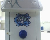 UNC  License Plate Birdhouse  Built To Order
