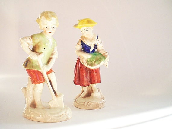 Antique German Porcelain Figurines