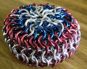 Captain America Chainmaille Footbag