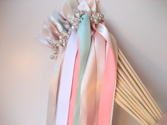 Items similar to 25 send off wedding wands any color two for Wedding wands