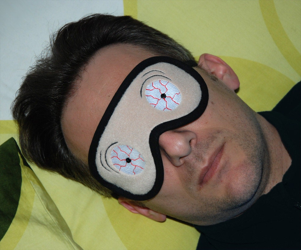 Zombie Eye Mask Zombie Sleep Mask Crazy Eyes