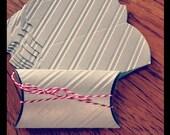 silver Pillow case Christmas