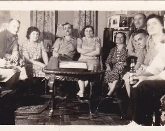 Gathered Together - Vintage Photograph (NN)