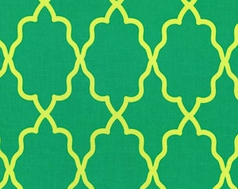 Moroccan Lattice Grass for Michael Miller, 1/2 yard