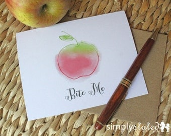 Bite Me - Bitter Fruit Card Collection - FREE US SHIPPING