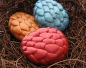 Dragon Egg Fondant Mold Silicone Egg Dragon Mould Chocolate Clay or Soap Moulds
