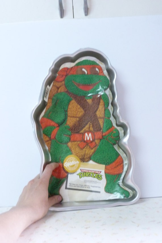 ninja turtle cake pan mutant turtles wilton cake pan 6175