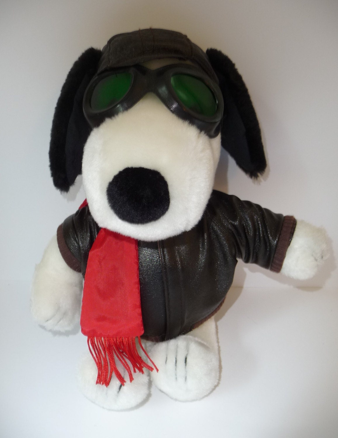 Indian Smoke Shop >> Peanuts Plush Snoopy Red Baron FLYING ACE by treasuresNtoys