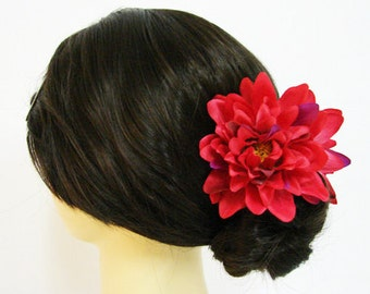 Dahlia Flower Hair Claw Choose color