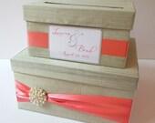 Wedding Card Money Box Reception Card Holder - Custom Made