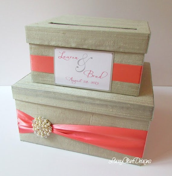 Wedding Card Boxes For Receptions: Wedding Card Money Box Reception Card Holder Custom Made
