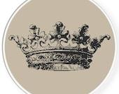 Instant download,Free shipping,Cross stitch pattern, Crossstitch PDF/JPEG,vintage crown pattern, cross stitch pillow pattern,zxxc0407
