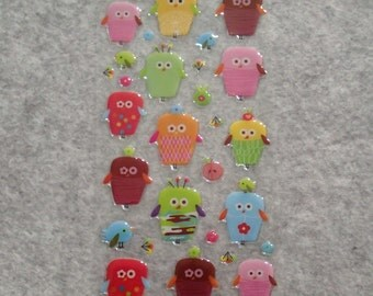 Mixed Cute PVC Happy Cute Mummy Stickers