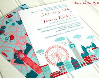 Wedding Invitations - London Collection