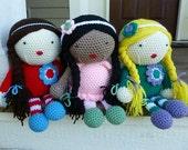Made to Order-Crochet Floppy Dollie