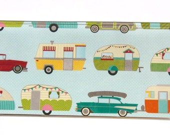 CHECKBOOK COVER - Glamping