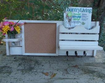 Organizer--Message Center--Mail,Magazine Holder--Message Board